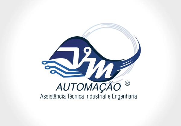 logotipo vm automacao