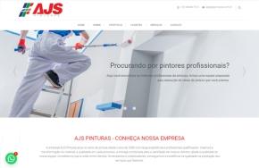 Criação de Site AJS Pinturas